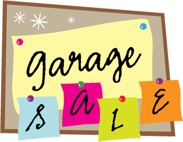 Garage Sale, April 30