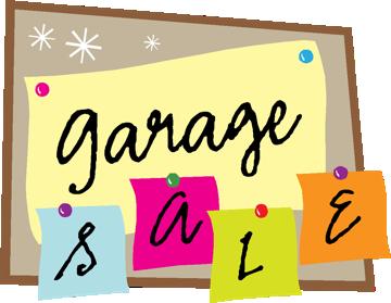 Garage Sale, April 30