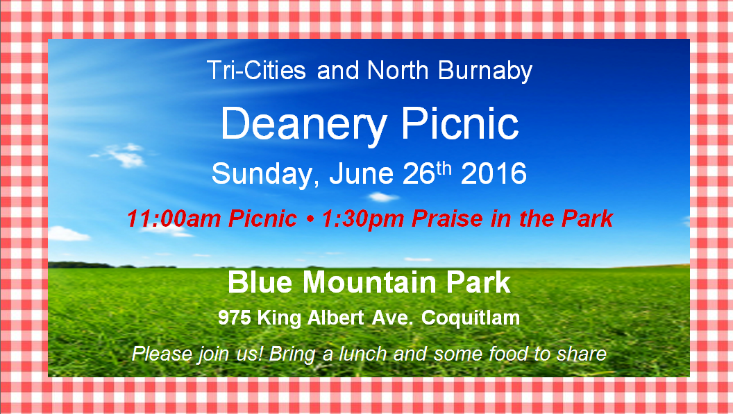 Deanery Picnic - June 26th, 2016