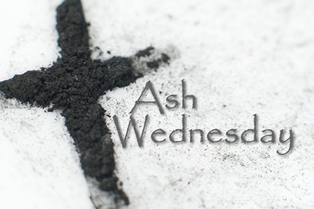 ASH WEDNESDAY SERVICES- MARCH 1ST