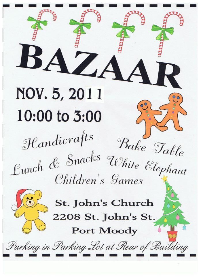 Fall Bazaar - November 4th