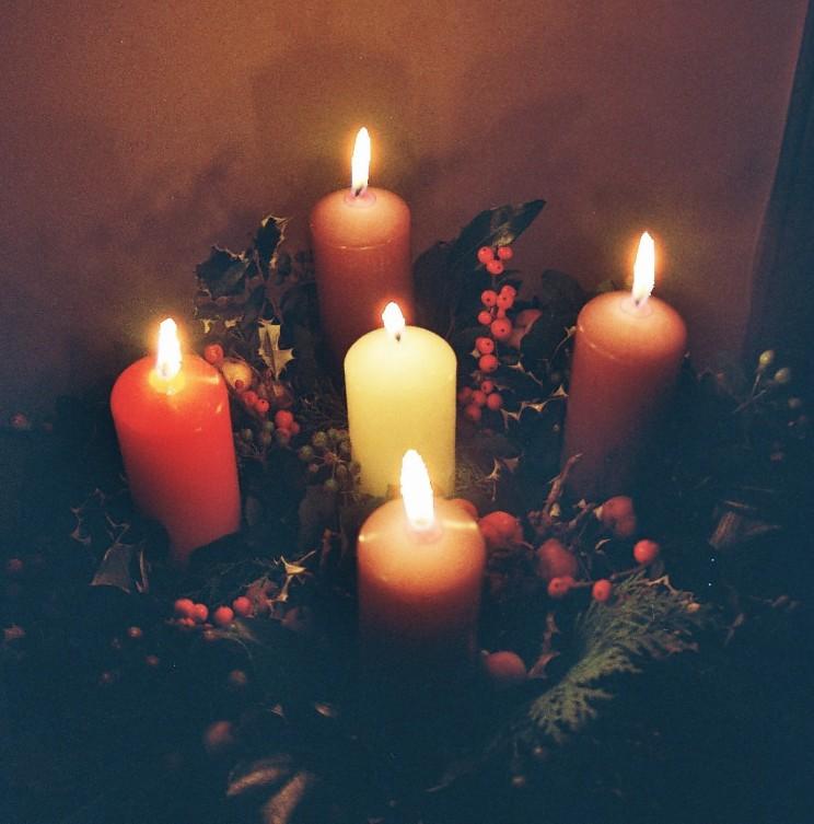 Advent Wreath Workshop - November 26th, '17