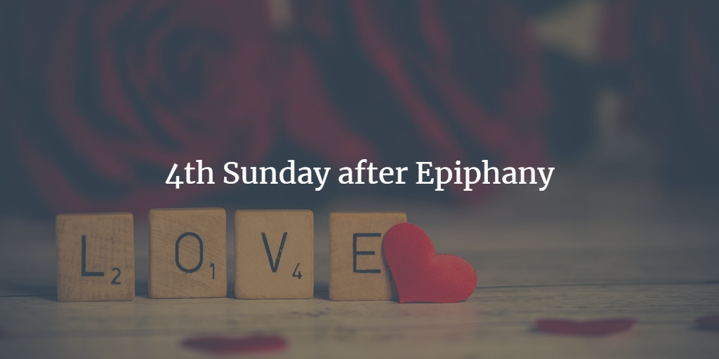 4th Sunday after Epiphany St. John Port Moody