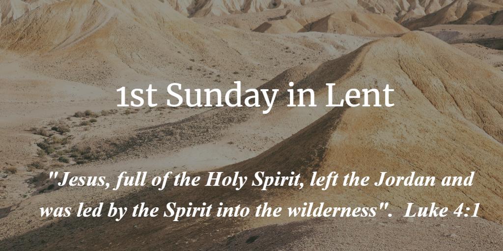 1st Sunday in Lent St. John Port Moody